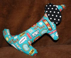 Super B the Kayeighkins Stuffed Dog by fluffygirlboutique on Etsy, $14.99