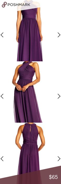 ONE TIME ONLY⚡️Adrianna Papell Gown New With Tags Color: Currant Adrianna Papell Dresses Prom