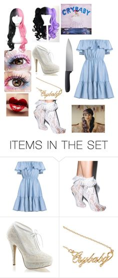 """Melanie Martinez in honour of the Alphabet boy music video"" by xxaliciabiersackxx ❤ liked on Polyvore featuring art"