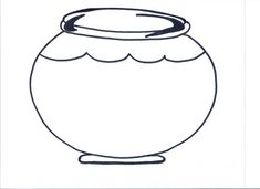 outline aquarium coloring pages template 1 fish bowl here a setup on empty fish bowl coloring pages