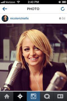 Nicole Richie hair- like this for me, but a little longer. Nicole Richie Hair, My New Haircut, Ethnic Hairstyles, Cut My Hair, New Haircuts, Beauty Shop, Beauty Ideas, Bombshells, Locks