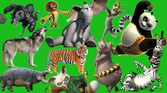 Learn WILD ANIMALS names and sounds | With Cartoon for kids ► Kids Learn Fun Animals.