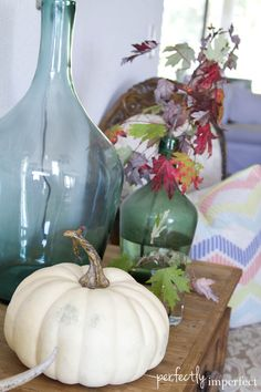 Fall Decor Styling | perfectly imperfect
