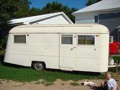 For sale on ebay -wonderful rare-Vintage 1947 Westwood Tahoe Camper - all Original  NICE!