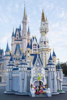 This highly detailed LEGO? The Lego Disney Castle is a must for collectors. Main tower second-floor room includes a spinning wheel and access to the castle main building third-floor room.