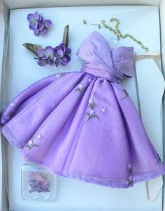 LILAC HEADLINER TONNER OUTFIT Mint for Brenda Starr