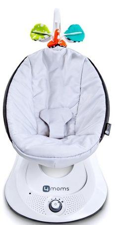 4moms rockaRoo Swing Classic Grey - Nylon Fabric $229.99 - from Well.ca