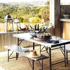Roost Ouray Folding Dining Table.