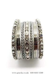 PB 22 - Bangle set - VP 0916  #south #latest #creations #greatvalue #london #bollywood #prachy