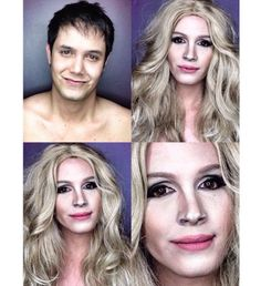 This Guy Can Transform Himself Into Any Celebrity He Wants Just By Using Makeup (14 Pictures)