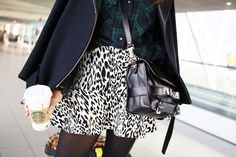 Just bought this Zara skirt - want the bag too!