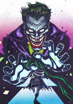 Joker / Batman by Harmine Toussounian