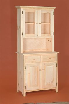 drp door hutch eastern white pine quot random attachment dining room hutches key interior