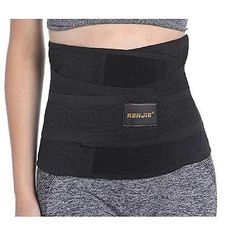 Renjie Waist Trimmer Trainer Cinchers Exercise Fitness Ab Belt for Men and New Ab Belt, Running Gear, Workout Programs, Abs, Exercise, Yoga, Fitness, Women, Fashion