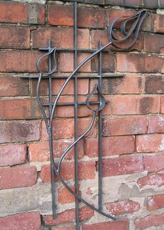 Blacksmith made Art Deco Inspired Garden Art, via Flickr.