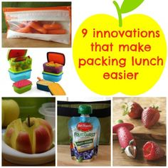 9 innovations that make packing lunch easier!