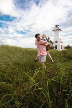Tour lighthouses: how to experience Prince Edward Island like a true Islander via Canadian Traveller Magazine. #play #local #do #see #princeedwardisland #pei #explorepei #activities #lighthouses #lighthouses #tour #travel #family #authentic #beach #recreation ©Tourism PEI / D. Brosha