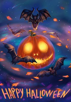 by Mellodee - Every day is Halloween Samhain Halloween, Halloween Scene, Family Halloween, Holidays Halloween, Scary Halloween, Vintage Halloween, Halloween Pumpkins, Halloween Humor, Halloween Birthday