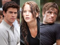 Katniss, Gale, and Peeta, The Hunger Games