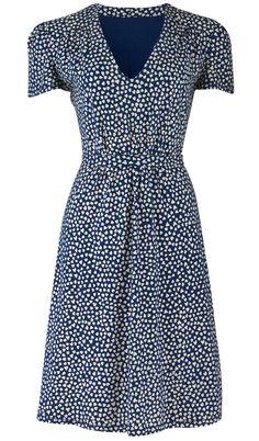 Fair Trade Audrey Heart Print Dress - cute!!