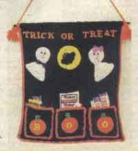 50 Halloween Patterns Trick or Treat Wall Hanging