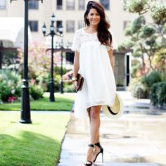 I am SO overjoyed to finally be able to announce to ALL OF YOU the GOOD NEWS! Jillian Harris for Privilege is launching a SECOND capsule collection on Super Cute Dresses, Little Dresses, Jillian Harris, Work Hairstyles, Fashion Catalogue, Preppy Style, Preppy Fall, Classy And Fabulous, White Fashion