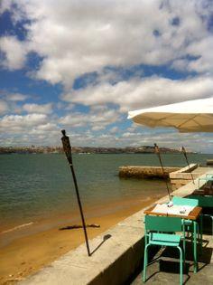 Restaurante Atira-te ao rio, lisbon Lisbon Portugal, Places Ive Been, Rio, To Go, Outdoor Decor, Dance, Lisbon, Countries, Beach