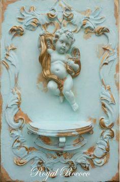Rococo  ornamental Cherub
