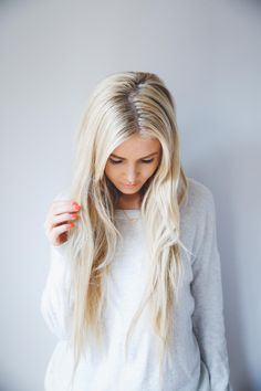 What I Tell my Hairdresser to get my Blonde Color   Barefoot Blonde   Bloglovin'