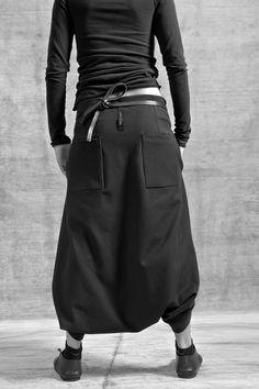 Streetwear Mode, Streetwear Fashion, Fashion 2017, Fashion Outfits, Womens Fashion, Mode Style, Style Me, Thai Harem Pants, Baggy Trousers
