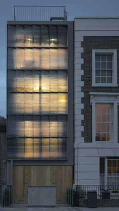 In-fill House NW1 by Patel Taylor