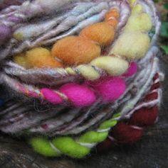 Yarn from Folktale Fibers at the 2012 Crafty Bastards Arts & Crafts Fair
