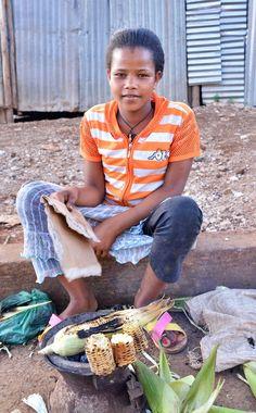 Street Vendor, Jimma, South Western Ethiopia