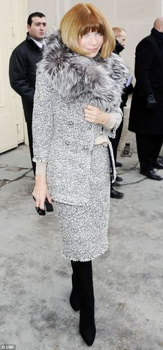 Anna Wintour looking fab