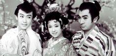 初春狸御殿 wakao ayako, ichikawa raizo, katsu shintaro