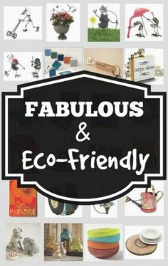 Celebrate #EarthDay with these Fun and Fabulous #EcoFriendly buys! | #EcoFriendlyGifts, #Gifts, #Recycled, #Reclaimed