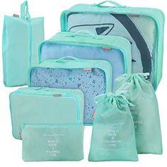 71a4c2230862f ... Bolsas Set (Flor azul) · Me marcho de ViajeOrganizadores para tus  maletas · Joyoldelf juego de 8 esencial bags-in-bag embalaje cubos de viaje