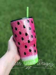 Excited to share this item from my shop: Watermelon Glitter Tumbler / Watermelon Glitter Yeti / Glitter Tumbler / Glitter Dipped / Watermelon Cup / YETI / Pink Glitter Tumbler / Custom Yeti Tumblers, Vinyl Tumblers, Glitter Cups, Pink Glitter, Glitter Tumblers, Shops, Tumbler Designs, Cricut Creations, Vinyl Crafts