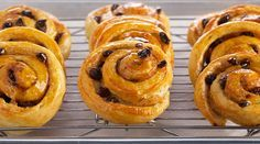 Bake With Anna Olson TV Show recipes on Food Network Canada; your exclusive source for the latest Bake With Anna Olson recipes and cooking guides. Anna Olsen, Asian Food Channel, Raisin Sec, Danish Food, Danish Pastries, French Pastries, Food Network Canada, Danishes, Tray Bakes
