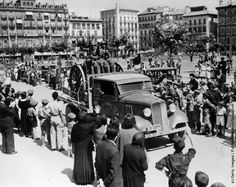 Old Photos of Spanish Civil War in the 1930s