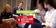 """Sebastian Winkler ist der rothaarige BAYERN 3 Frühaufdreher. Zusammen mit Corinna Theil und Sascha Seelemann hat er Ed Sheeran überzeugt, dass er Chef im [R]ED CLUB , dem """"Club der Rothaarigen"""" wird."""