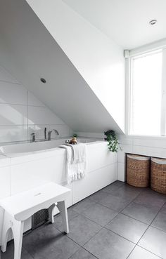 Dachausbau, Dachwohnung, Dachgeschoss, Einrichten Und Wohnen,  Innenarchitektur, Badezimmer, Inneneinrichtung,