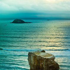 Seaside Beach Landscape