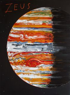 But painter Erik Olson prefers to interpret our solar system through his own lens, rendering our celestial neighbors with oil on canvas. Planet Painting, Modern Art, Contemporary Art, Solar System Planets, To Infinity And Beyond, Art And Illustration, Illustrations, Retro, Art Inspo