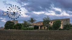 Windmill, #Mallorca, Spain   #Windmühle, Mallorca, #Spanien Мельница, #Майорка, #Испания 風車、マヨルカ、スペイン طاحونة، مايوركا، إسبانيا