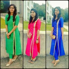 Simple but pretty salwar kamee