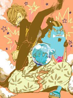 Sanji and Jinbei