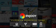 ENJOOY - Responsive Multi-Purpose WordPress Theme . ENJOOY has features such as Widget Ready: Yes, Compatible Browsers: IE10, IE11, Firefox, Safari, Opera, Chrome, Compatible With: WPML, WooCommerce 2.4.x, WooCommerce 2.3.x, WooCommerce 2.2.x, WooCommerce 2.1.x, Visual Composer 4.11.x, Visual Composer 4.11.2.1, Visual Composer 4.9.x, Visual Composer 4.9, Framework: Whiteboard, Software Version: WordPress 4.5.x, WordPress 4.5.2, WordPress 4.5.1, WordPress 4.5, WordPress 4.4.2, WordPress…