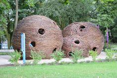 Park Bajka, Błonie. Za: nebule