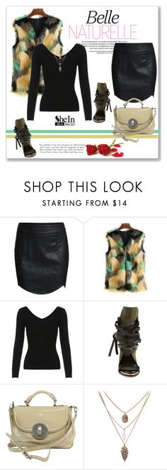 """""""SheIn"""" by amra-mak ❤ liked on Polyvore featuring Ivy Kirzhner, Marc by Marc Jacobs, women's clothing, women, female, woman, misses, juniors and shein"""